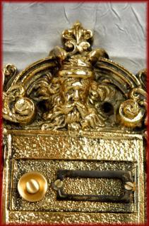 Historische 2 fach Klingel Klingelplatte m. Namensschilder - Vorschau 2