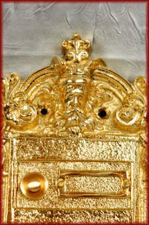 Barock antike Klingel Klingelplatte sehr ausgefallen - Vorschau 2