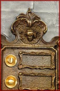 3 fach Klingel Klingeltaster Klingelplatte antike Ausführung Bronze - Vorschau 2