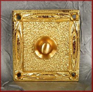 antike Klingel im Art Deco Stil Klingeltaster Klingelplatte - Vorschau 2