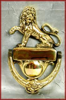 Löwen Türklopfer Haustür
