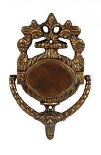 Türklopfer Empire-/Jugendstil Haustür Bronze