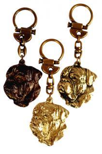 Bordeaux Dogge Bordeauxdogge Schlüsselanhänger