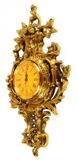 Barock Wanduhr Uhr Messing - Vorschau 2