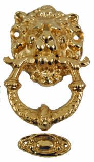 mini Löwenkopf Türklopfer