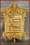 Barock antike Klingel Klingelplatte sehr ausgefallen