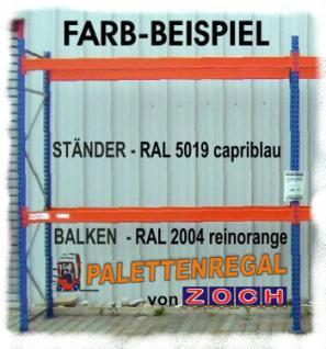 Zusatzbalkenpaar Weitspannregal L1425mm/1400 kg TK