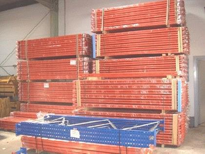 Zusatzbalkenpaar Weitspannregal L1425mm/1400 kg TK - Vorschau 3