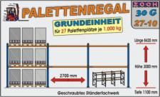 Palettenregal Regal Schwerlastregal 30G27-10