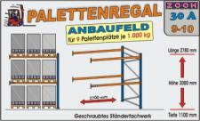 Palettenregal Regal Schwerlastregal 30A9-10