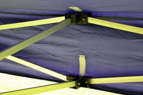 Ersatzdach für PROFI Falt Pavillon 3x3m blau wasserdicht 270g/m² Dachplane - Vorschau 3