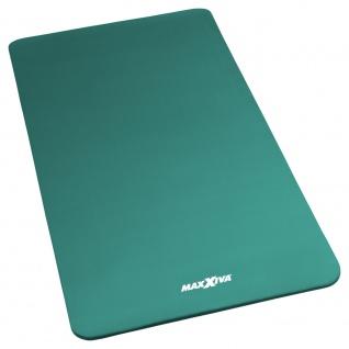 MAXXIVA Yogamatte Gymnastikmatte Fitnessmatte 190x100x1, 5 cm petrol schadstofffrei