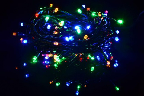 100er led lichterkette bunt gr nes kabel innen au en weihnachtsbeleuchtung 20 m kaufen bei. Black Bedroom Furniture Sets. Home Design Ideas