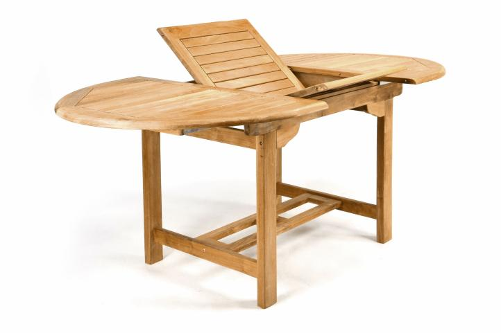 divero gartentisch esstisch balkon tisch teak holz f r den au enbereich ausziehbar massiv 120. Black Bedroom Furniture Sets. Home Design Ideas