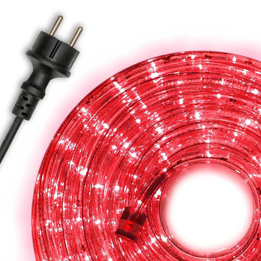 10m led lichterschlauch lichtschlauch rot innen au en weihnachten partykette kaufen bei belan gmbh. Black Bedroom Furniture Sets. Home Design Ideas