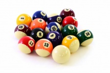 Billardkugeln Billard Pool Kugeln Billardball Set hochglanzpoliert Ø 57, 2 mm Standardmaß