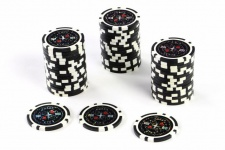 50 Poker-Chips Wert 100 Laserchip 12g Metallkern Poker-Laser- CHIP für Pokerkoffer