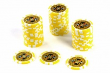 50 Poker-Chips Wert 1000 Laserchip 12g Metallkern Poker-Laser- CHIP für Pokerkoffer
