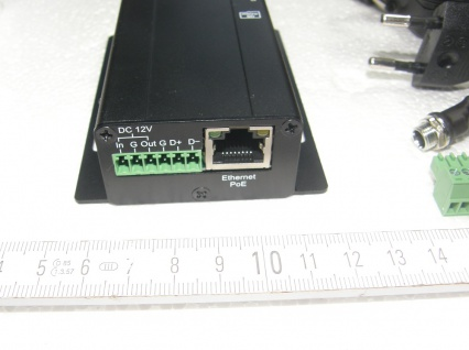 HD720p Videoserver mit Kamera 6x6 mm