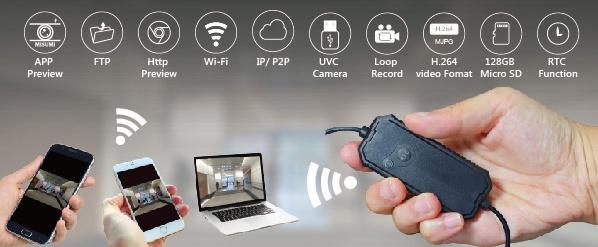 Wlan Minirekorder Fhd 1080p - Vorschau 3