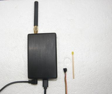 WLAN DVR mit Kamera 6x6 mm, HD720p
