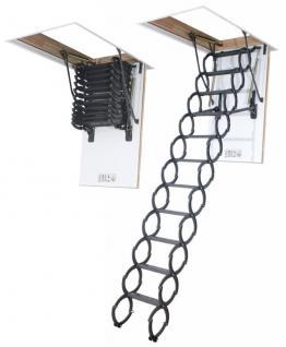 Scherentreppe FAKRO LST Bodentreppe aus Metall / Scheren-Mechanismus