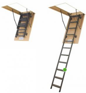 Bodentreppe FAKRO LMS / Bodentreppe / Klapptreppe aus Metall