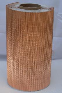 Wandanschluss Kaminanschluss/Kupfer strukturiert/300mm x 5m/NEU!