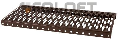 Stahl Dachtritt Laufrost 80cm Einzelelement - Vorschau 1