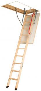 Gedämmte Bodentreppe, Speichertreppe, Dachbodentreppe mit Handlauf / Viele Größen / Neu!