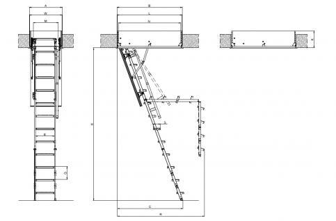 Dachbodentreppe FAKRO LML Lux - Vorschau 4