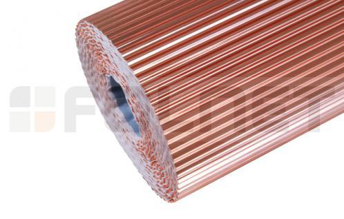 PAROTEC Wandanschlussband / Anti-Moos / Plissiertes Kupferband 0, 3m x 5m - Vorschau 2