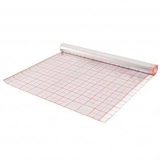 Strotex Hotfloor / Isolationsfolie für Fußbodenheizung 50m² mit Verlegeraster