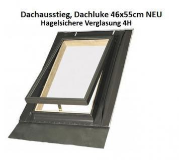 Dachausstiegsfenster-Ausstiegsfenster-Dachausstieg-Dachluke-Dachfenster 46 x 55 cm