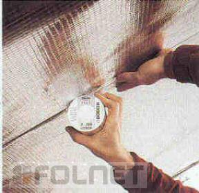 Dörken aluminiumbedampftes Klebeband - Delta Poly-Band - Vorschau 3
