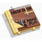 Unterdeckbahn Dörken Delta Foxx PLUS 75m² Unterspannbahn Schalungsbahn