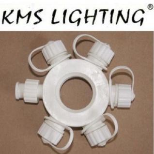 KMS Ring-Connector Verteiler 11cm weiß / white Modell 1