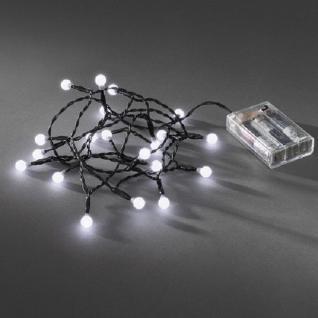 LED Globe-Lichterkette 20er Batterie Timer innen kaltweiß 1491-207 xmas