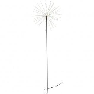 LED-Leuchtstab FIREWORK 160er warmweiß 110-36cm Gartendeko außen 860-33