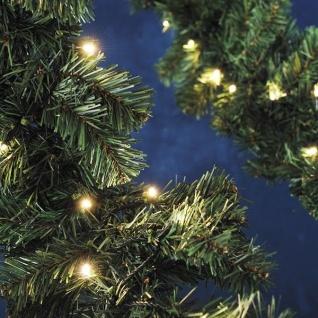 LED-Tannengirlande 6m 120er warmweiß außen Konstsmide 2724-000