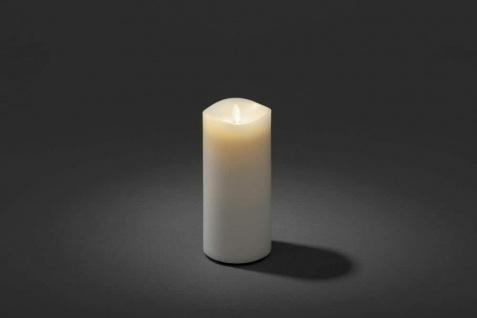 LED Duftkerze flackernd mit Lavendel-Duftpad warmweiß Konstsmide 1861-100