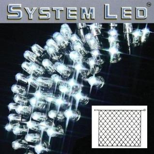 System LED Lichternetz 3x3m 192er cool ligt Kabel schwarz 465-18-33