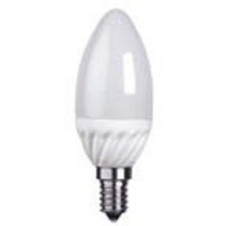 Decoration LED Glühbirne E14 3000K 250lm warmweiß Leuchtmittel Kerzenform 337-17