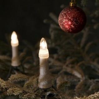 Weihnachtsbaumbeleuchtung 25er klare Birne außen ein Strang 16, 8m 1191-000