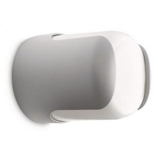 Wandleuchte Barrel Aluminium Kunststoff Philips ecomoods grau 169298716