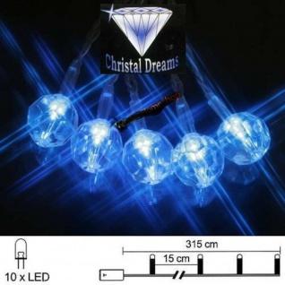 LED Lichterkette 10er Batteriebetrieb blau Jewel Best Season 007-11
