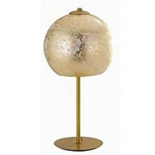 Fan Europe I-VANITY/L ORO Tischleuchte Globe 2xE27, 60 W, Gold 18 x 35 cm