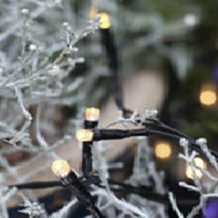LED Lichterkette 40er 4m warmweiß / schwarz Best Season 498-16