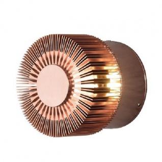 Aluminium LED HIgh Power Effekt Wandleuchte MONZA kupfer Konstsmide 7900-900
