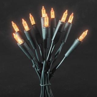LED Mini-Lichterkette 35er orange 5, 10m Konstsmide 6302-850